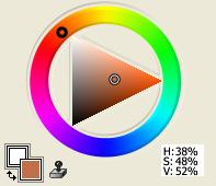 Red-Orange Plus Gray
