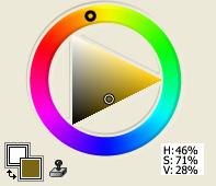 Yellow-Orange Plus Black
